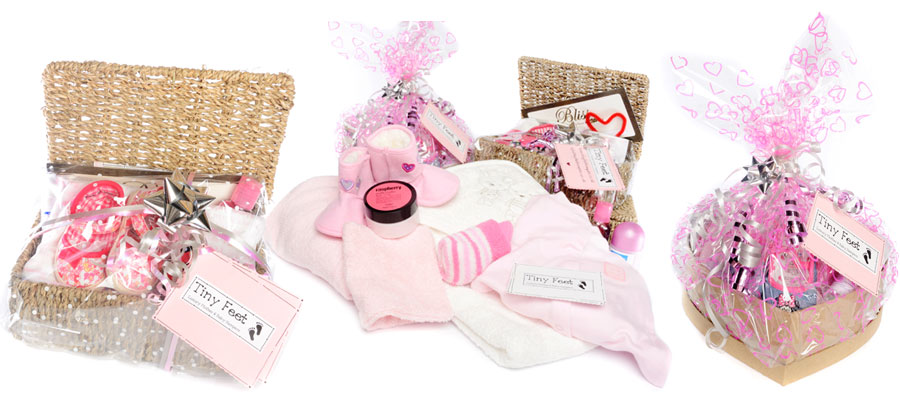 Tiny Feet Girl Hampers